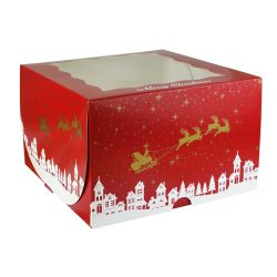 Merry Christmas Cake Box