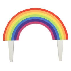 Culpitt Gumpaste Topper Rainbow