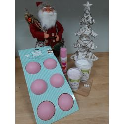 Bak Thuis Mee Pakket: Bolgebakje Kerstmuts