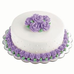 Wilton Cake Board Bloem 35,5cm 6/pc
