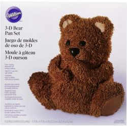 Wilton 3-D Bear Pan Set