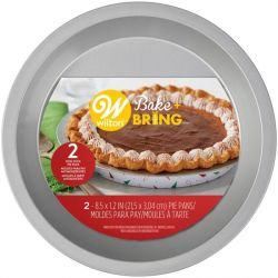 Wilton Pie Pan Bake&Bring Christmas 21cm 2/pc