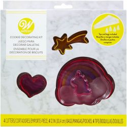 Wilton Cookie Decorating Kit Unicorn
