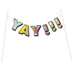 Wilton Cake Banner ''YAY!!!''