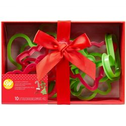 Wilton Christmas Cookie Cutter Set 10pc