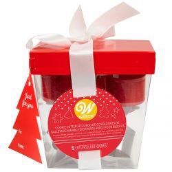 Wilton Metal Cookie Gift Box Set/5