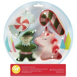 Wilton Cookie Cutter Set Magical Christmas