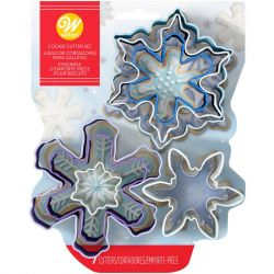 Wilton Cookie Cutters Assorted Snowflakes set/7