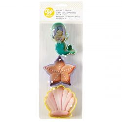 Wilton Cookie Cutter Sea Life Set/3