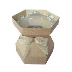 Cupcake Bouquet Box Kraft