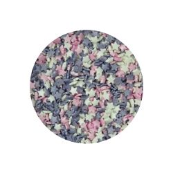 Scrumptious Glimmer Mini Stars Ice Pink