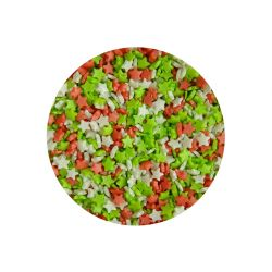 Scrumptious Glimmer Mini Stars Red, Green, White