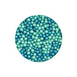 Scrumptious Glimmer Pearls Turquoise & Blue