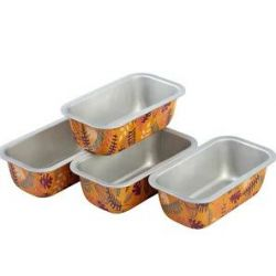 Wilton Bake & Bring Loaf Pan 14cm 4/pc
