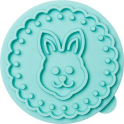 Birkmann Cookie Stamp Bunny Be Happy & Smile
