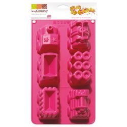 ScrapCooking Silicone Mold 3D Train