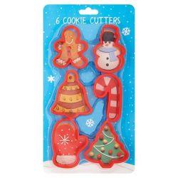 Culpitt Festive Cookie Cutters 6/pc