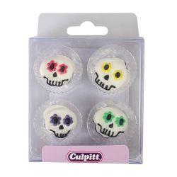 Culpitt Suiker Decoraties Halloween Party Skulls