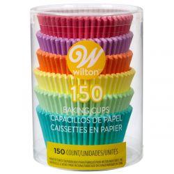 Wilton Baking Cups Tube Pastel Rainbow pk/150