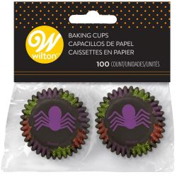 Wilton Baking Cups Mini Spider pk/100