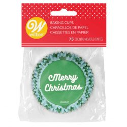 Wilton Baking Cups Normal Merry Christmas