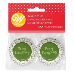 Wilton Baking Cups Mini Merry Everything