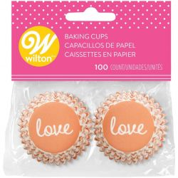 Wilton Baking Cups Mini Love