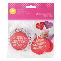 Wilton Baking Cups Combo Pack Juvenile Valentine