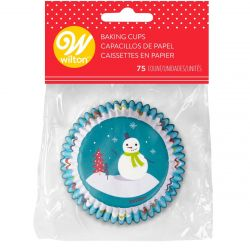 Wilton Baking Cups Normal Snowman With Characters
