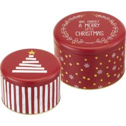 Birkmann Cake Tin Set Little Christmas set/2 L/XL