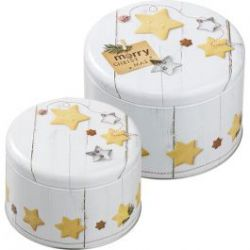 Birkmann Cake Tin Set Merry Christmas XL