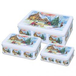 Birkmann Cake Tin Chirstmas Eve Set M/L/XL