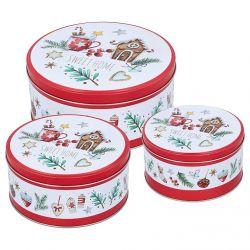 Birkmann Cake Tin Sweet Home Set M/L/XL