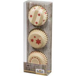 Birkmann Mini MuffinVormpjes Little Christmas 72pc