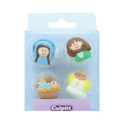 Culpitt Suiker Decoraties Nativity Set Small