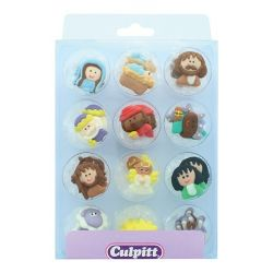 Culpitt Suiker Decoraties Nativity Set Large