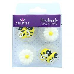 Culpitt Suiker Decoraties Bee & Daisy