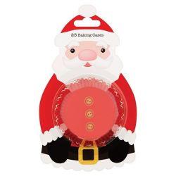 Culpitt Baking Cups Santa pk/25