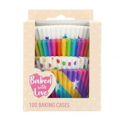 BWL Baking Cups Rainbow