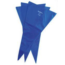 Decora Bakery Spuitzakken 53cm Blauw Pak/100