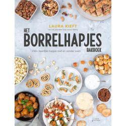Laura's Bakery - Borrelhapjes Bakboek - Laura Kieft