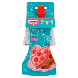 Dr. Oetker Designer Icing Pink With Nozzles