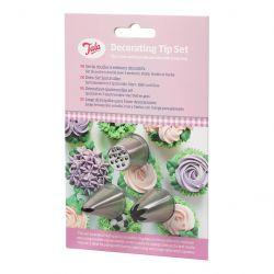 Tala Nozzles Tip Set/3 Decorating