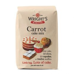 Wright's Baking Carrot Cake Mix 500gr