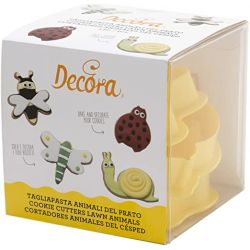Decora Insect Cookie Cutters Set/4