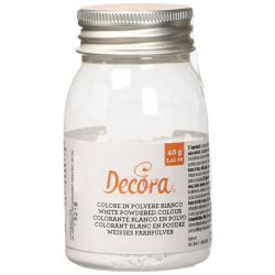 Decora White Powdered Color (E171)