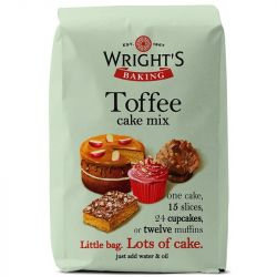 Wright's Baking Toffee Cake Mix 500gr