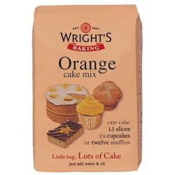 Wright's Baking Orange Cake Mix 500gr