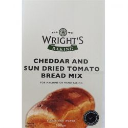 Wright's Baking Cheddar & Sun Dried Tomato Bread Mix 500gr