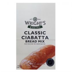 Wright's Baking Classic Ciabatta Bread Mix 500gr